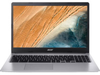 ACER Chromebook 15 (CB315-3HT-C47Q), Chromebook mit 15.6 Zoll Display, Touchscreen, Celeron® Prozessor, 4 GB RAM, 64 GB eMMC, Intel® UHD-Grafik 600, Silber