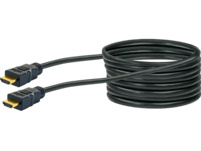 SCHWAIGER High-Speed-HDMI®-Kabel mit Ethernet Kabel, Schwarz