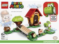LEGO 71367 Marios Haus und Yoshi – Erweiterungsset Bausatz, Mehrfarbig
