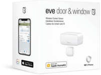 EVE Door & Window - Smarter HomeKit, Tür- und Fernsterkontaktsensor, kompatibel mit: Apple Homekit, Bluetooth, Weiß