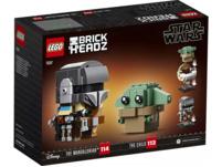 LEGO 75317 Der Mandalorianer™ und das Kind Bausatz, Mehrfarbig