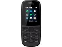 NOKIA 105 (2019), Mobiltelefon, 4 MB, Schwarz