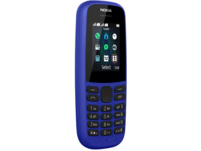 NOKIA 105 (2019), Handy, 4 MB, Blau