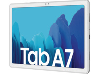 SAMSUNG TAB A7 Wi-Fi, Tablet, 32 GB, 3 GB RAM, 10.4 Zoll, Android 10.0, One UI Core 2.5, Knox 3.5, Silber