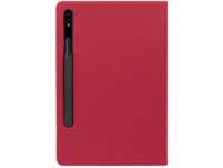TUCANO 61606 Tablethülle, Bookcover, Rot, passend für: Samsung Galaxy Tab S7