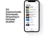 APPLE iPhone 12 5G, 128 GB, Schwarz