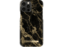 IDEAL OF SWEDEN Fashion Case Backcover, Apple iPhone 12 / 12 Pro, Golden Smoke Marble