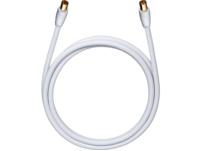 OEHLBACH 52163, Antennenkabel, 2000 mm, Weiß