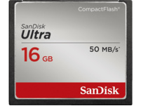 SANDISK Ultra Compact Flash Speicherkarte, 16 GB, 50 MB/s