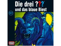 Die drei ??? 167: ...und das blaue Biest - 1 CD - Kinder/Jugend