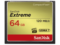 SANDISK Extreme Compact Flash Speicherkarte, 64 GB, 120 MB/s