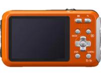 PANASONIC Lumix DMC-FT30EG-D Digitalkamera, 16.1 Megapixel, 4x opt. Zoom, Orange