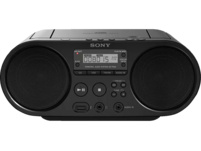 SONY ZS-PS55B Boombox, CD Player, Schwarz