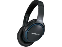 BOSE SoundLink around-ear wireless headphones II, Over-ear Kopfhörer, Near Field Communication, Headsetfunktion, Bluetooth, Schwarz/Blau