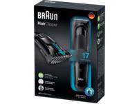 BRAUN HC 5050, Haarschneider, Schwarz