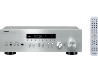 YAMAHA R-N402D, Stereo Receiver, Silber