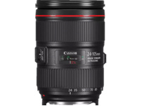 CANON EF 24-105MM f/4 L IS II USM 24 mm-105 mm f/4 IS II, USM (Objektiv für Canon EF-Mount, Schwarz)