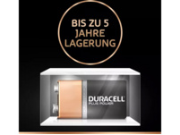 DURACELL Plus Power  9 Volt Batterie, 2 Stück
