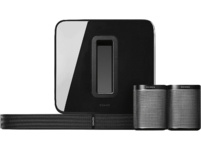 SONOS PLAYBASE, Wireless Soundbase, Schwarz