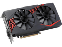 ASUS Radeon RX 570 Expedition 4GB OC (90YV0AI0-M0NA00) (AMD, Grafikkarte)