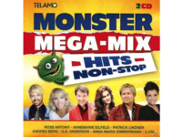 VARIOUS - Monster Mega-Mix,Hits Non-Stop - (CD)