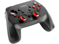 SNAKEBYTE Game:Pad SW Pro™ Controller, Schwarz/Rot