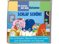 BOXINE Tonie-Hörfigur:Die Sendung mit dem Elefanten - Schlaf schön! Hörfigur, Mehrfarbig