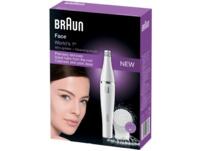 BRAUN Face 810, Gesichtsepilierer, Weiß