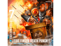 Five Finger Death Punch - And Justice for None - (CD)