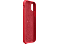 CELLULAR LINE Sensation Silkon Case Handyhülle, Apple iPhone X, iPhone XS, Rot