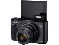 CANON PowerShot SX740 HS Digitalkamera, 20.3 Megapixel, 40fach opt. Zoom, Schwarz