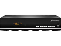 STRONG SRT 7007 (HDMI, LAN, SCART, USB, Display) Sat-Receiver, Schwarz