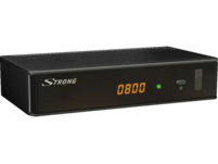STRONG SRT 3002 (digitales Kabelfernsehen, Full HD, HDMI, SCART, Mediaplayer)  HDTV HD Kabel Receiver, Schwarz