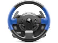 THRUSTMASTER T150 RS (inkl. 2-Pedalset, PS4 / PS3 / PC), Lenkrad, Schwarz/Blau