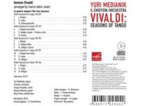 Yuri/emotion Orchestra Medianik - Seasons of Tango - (CD)