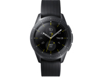 SAMSUNG Galaxy Watch 42 mm LTE, Smartwatch, Silikon, S, L, Schwarz