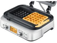 SAGE SWM620BSS4EEU1 The Smart Waffle, Waffeleisen, Silber