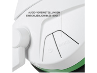 TURTLE BEACH Stealth 600 White Kabelloses Surround Sound Gaming-Headset für Xbox One, Weiß/Grün