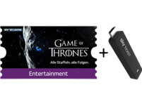 SKY Ticket inklusive 3 Monate Entertainment TV Stick, Schwarz