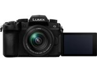PANASONIC DC-G91MEG-K Lumix G Kit Systemkamera 20.30 Megapixel mit Objektiv 12-60 mm , 7.5 cm Display   Touchscreen, WLAN