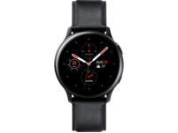 SAMSUNG Galaxy Watch Active2 Stainless Steel 40mm (LTE) BK, Smartwatch, Echtleder, S/M, Black