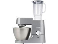 KENWOOD KVC3150S Chef, Küchenmaschine inkl. 5 Zubehörteile, Rührschüssel-Kapazität: 4.6 l, 1000 Watt, Silber