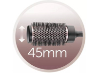 REMINGTON D5706 CURL&STRAIGHT CONFIDENCE, Haartrockner, 2200 Watt, Anthrazit/Rosé