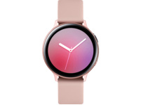 SAMSUNG Galaxy Watch Active2 Aluminium 44mm PG, Smartwatch, Fluorkautschuk, M/L, Pink Gold