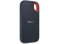 SANDISK Extreme® Portable SSD 500 GB, 500 GB, 2.5 Zoll, Festplatte, Grau