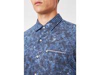 Hemd mit Punkteprint - Modern Fit