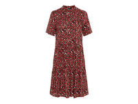 Vero Moda Rundhalsausschnitt Kurzärmeliges Kleid