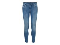 Noisy may Normal Waist mit Gürtelschlaufen Ankle-Jeans in Skinny Fit von Noisy May