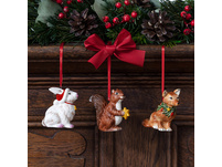 Nostalgic Ornaments Ornamente Hirsch Familie, Set 3tlg