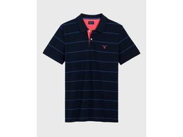 3-Color Piqué Poloshirt